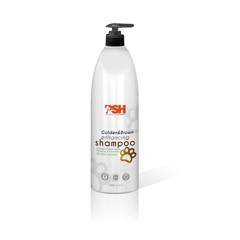 PSH enhancer brown gold shampoo – 1L