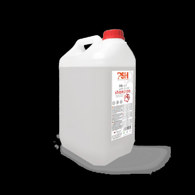 Champú PSH Silk X-2 con biotina - 5L